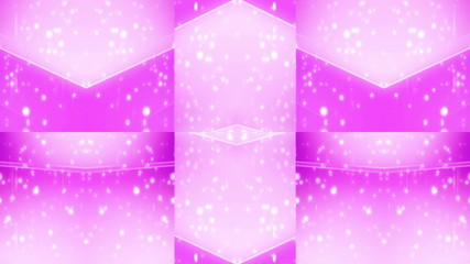 Geometric Pink VJ Looping Animated Background