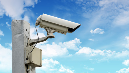 CCTV security camera outdoor