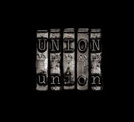 Labor union concept