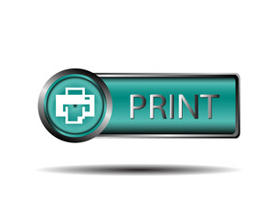 Printer icon sign vector