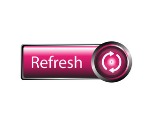 Refresh icon, refresh button sign vector