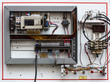 Wiring -- Control panel with wires - 70285740
