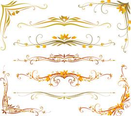 Autumn Scroll Set