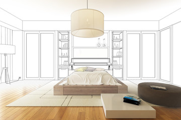 Luxury Sleeping Apartment (drawing)