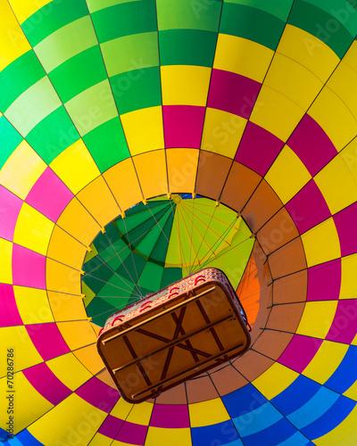 Leinwandbild Motiv Hot air balloon