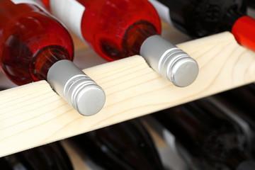 mehrere Weinflaschen