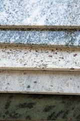 Stein-Musterplatten