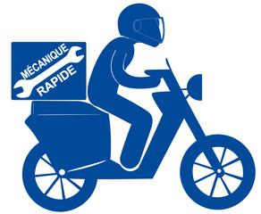 scooter mécanique rapide