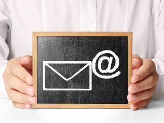 Concept representing email