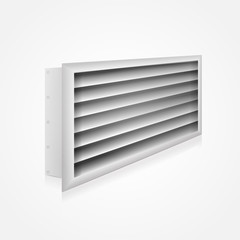 Illustration of ventilation louver