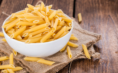 Uncooked Penne