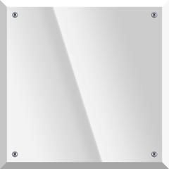 Quadratisches Schild