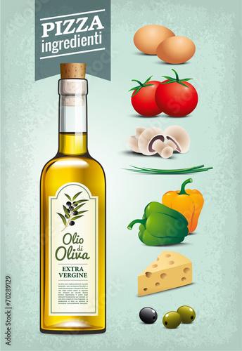 oliwa-z-oliwek-skladniki-pizzy-vintage-tekstury