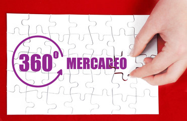 360 degrees marketing in Spanish language