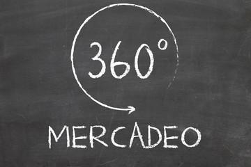 360 degrees marketing in Spanish language