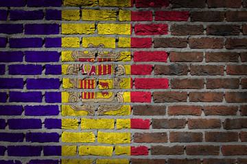 Dark brick wall - Andorra