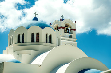 THIRA,ISLAND SANTORINI,GREECE-SEPTEMBER,05,2014