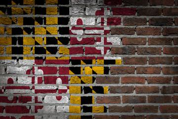 Dark brick wall - Maryland