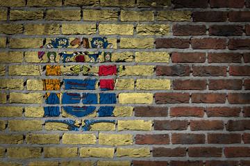 Dark brick wall - New Jersey