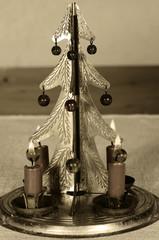 christmas candle stick