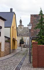 alleyway in Schönebeck