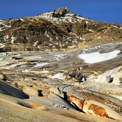 Szwajcaria , Alpy, lodowiec