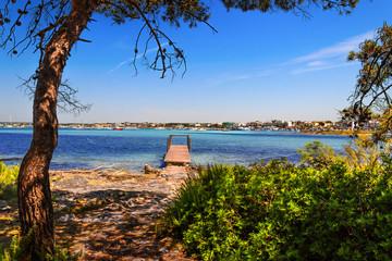 Costa del Salento: Porto Cesareo (Lecce).- ITALIA (Puglia) -