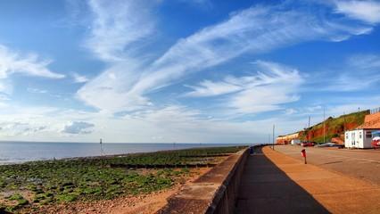 Board of Nortch sea in UK