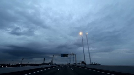 首都高速 湾岸線 羽田空港エリア