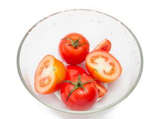 tomato in bowl