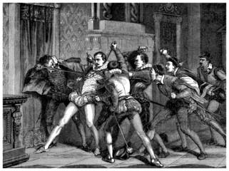 Aristocrat Murdering - 16th century
