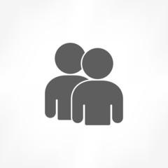 twin person icon