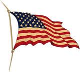 flag of USA - 70296106