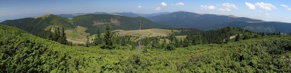 Bihor carst mountains in Apuseni in Romania
