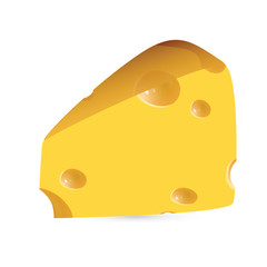 cheese - vector illustration