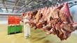 Kühlhaus einer Schlachterei // Cold store a slaughterhouse