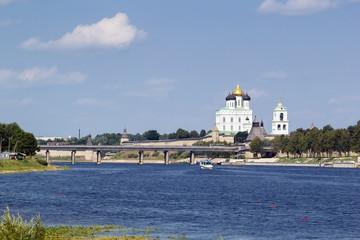 view of Pskov kremlin