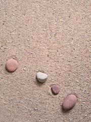 zen garden sand waves and rock sculptures