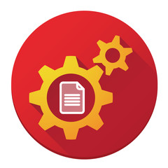 Gears with a document