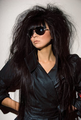 asian woman in glasses
