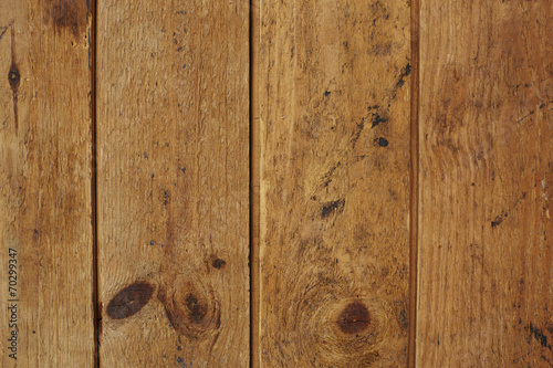canvas print picture Close up of wooden floorboards, studio.