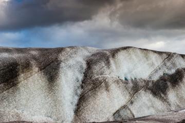 Il fronte del ghiacciaio che si scioglie, Vatnajökull