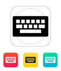 Computer keyboard icon.