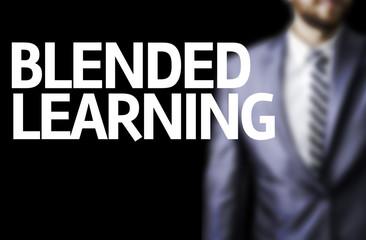 Blended Learning written on a board