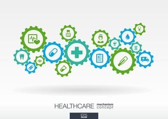 Healthcare mechanism concept