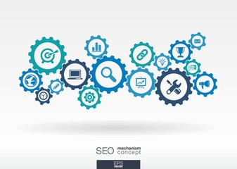 SEO mechanism concept