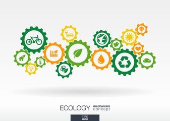 Ecology mechanism concept