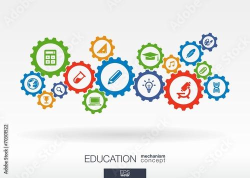 Education mechanism concept - 70301522