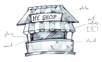My first shop