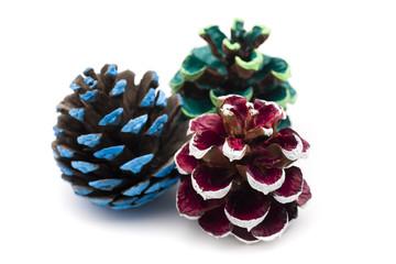 Christmas ornament - pine cones